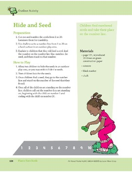 Plants Have Seeds: Outdoor and Music Activities