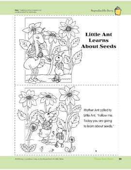 Plants Have Seeds: Take-Home Book