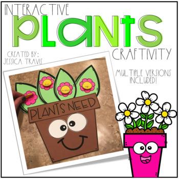 Plants! {Interactive Craftivity}