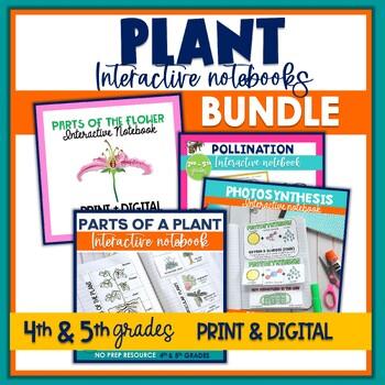 Plants Interactive Notebook Bundle