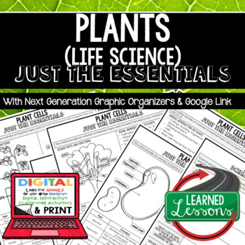 Plants Just the Essentials Content Outlines Next Generation Science, Google