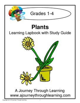 Plants Lapbook with Study Guide