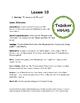 Plants Lesson 10 - Environmental Threats
