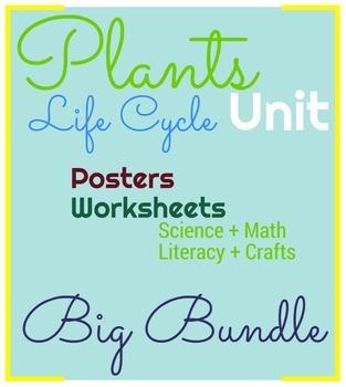 Plants Life Cycle Big Bundle