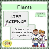 Plants Vocabulary Cards