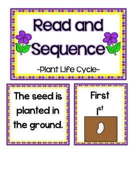 Plants Literacy Centers 2-Common Core Aligned
