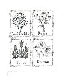 Plants Logic Line Up - NO PREP!!!. common core aligned