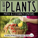 Plants {Math and Literacy Centers ONLY}
