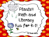 Plants! Math and Literacy Fun for K-1!