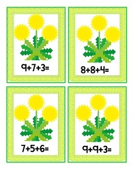 Plants-Math with Dandelions