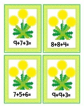 Plants-Math with Dandelions