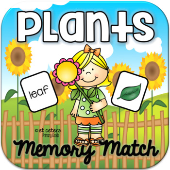 Plants Memory Match ~ Interactive PowerPoint Game