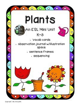 Plants Mini Unit ESL
