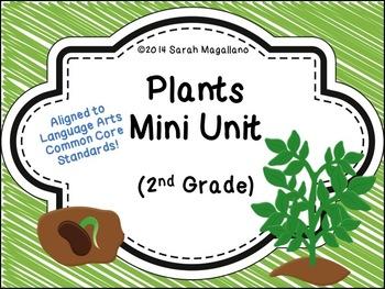 Plants Mini Unit (Second Grade)