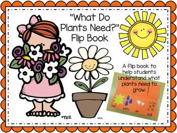 Plants Need Flip Book