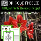 Plants Non Fiction Research Project with QR codes