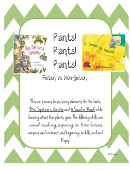 Plants! Non-ficiton and Fiction Stories