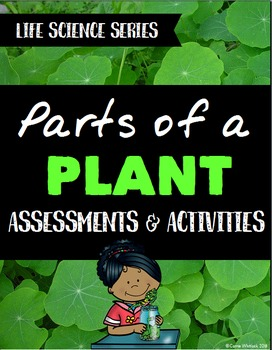 Plants: Parts of a Plant Assessments and Activities - Life