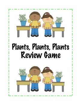 Plants, Plants, Plants Review Game