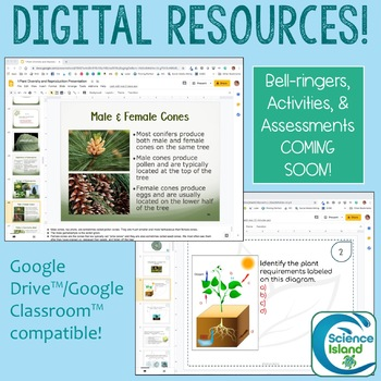 Plants PowerPoint and Notes Curriculum Bundle