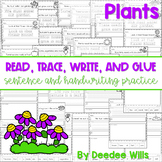 Plants: Read, Trace, Glue, and Draw