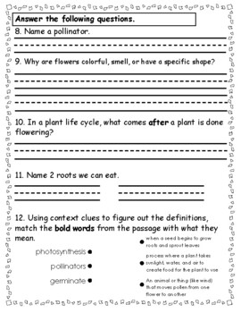 close reading of pkhents Plants close reading passages, text-dependent questions & more (differentiated) i created this resource to help students read complex texts independently and for a specific purpose i've researched several strategies for close reading and have developed a process that will make your.