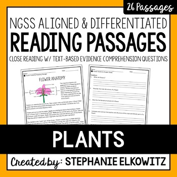 Plants Reading Passages