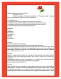 Science Lesson Plan for Plants