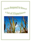 Plants Respond to Stimuli