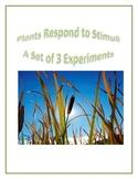 Plants Respond to Stimuli