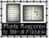 Plants Response to Stimuli - Interactive Notebook / Foldable