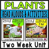 Plants Read Aloud Book Activities for SPRING with Lesson Plans