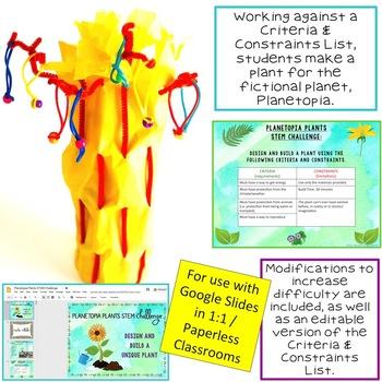Plants STEM Challenge: PAPERLESS Version