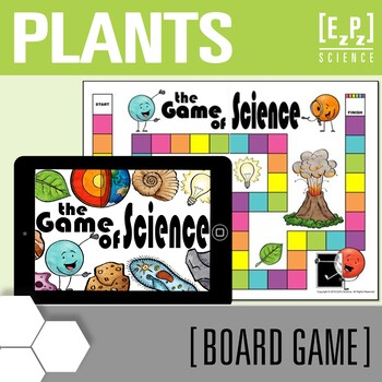 Plants Science Board Game Review By Ezpz Science Tpt