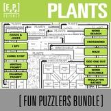 Plants Science Fun Puzzlers Bundle
