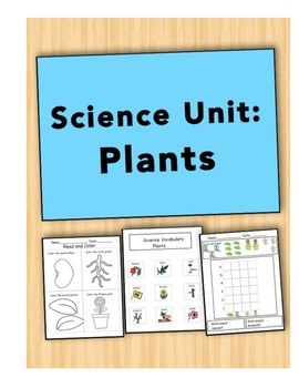 Plants: Science Unit for Kids with Autism
