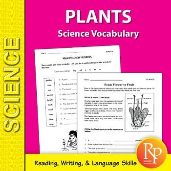 Plants: Science Vocabulary
