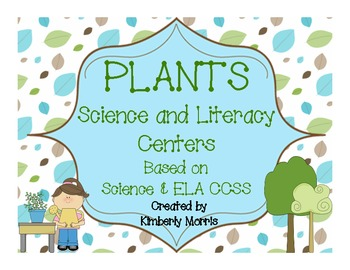Plants-Science and Literacy Centers
