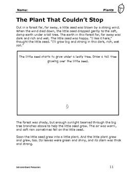Plants: Science for Primary Kids Grades K-3