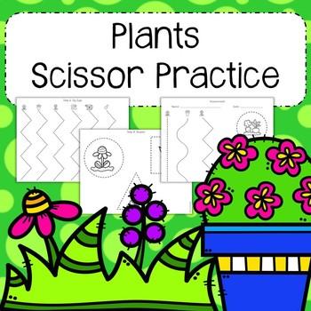 Plants Scissor Practice