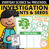 Plants & Seed Activities for Preschool & PreK   Plant Scie