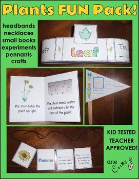 Plants - Seed, Root, Stem, Leaf, Flower