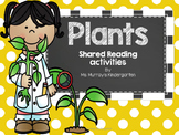 Plants Shared Reading Pocket Chart and Activities