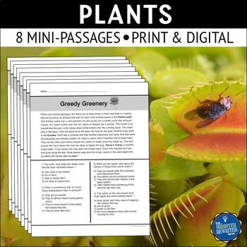 Plants Reading Passages