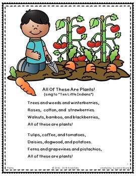 Plants: Songs and Rhymes