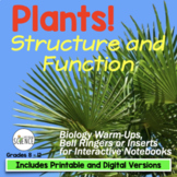 Plants: Structure and Function
