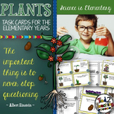 Plants Task Cards FREE