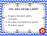 Plants Task Cards - With and Without QR Codes Indiana Standards