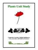 Plants Unit Study, Activities and Worksheets
