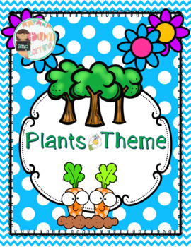 Plants Theme and Kindergarten Common Core